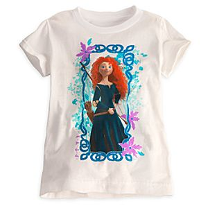Brave Merida Tee for Girls