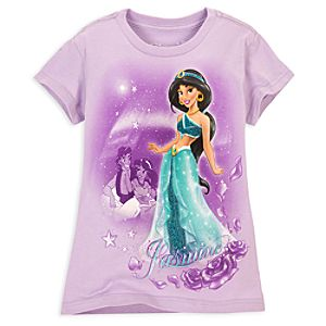 Cap Sleeve Jasmine Tee for Girls