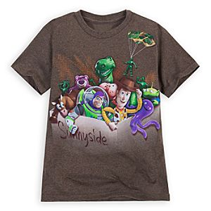 Heathered Toy Story Tee for Boys