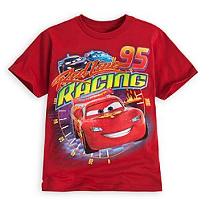 Red Line Racing Lightning McQueen Tee for Boys