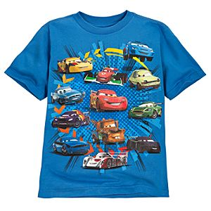 Dashing Dozen Cars Tee for Boys