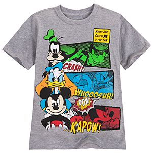 Goofy, Donald Duck and Mickey Mouse Tee for Boys
