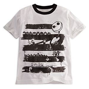 Ringer Jack Skellington Tee for Boys