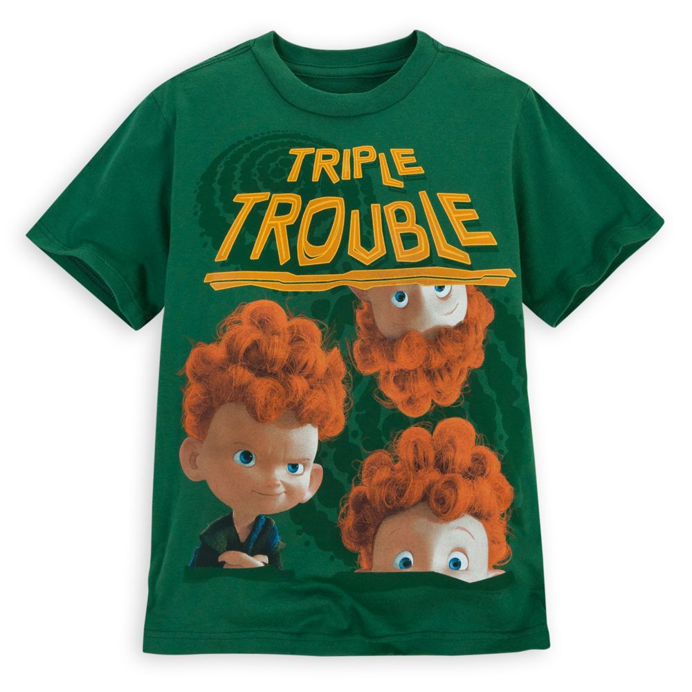 Triple Trouble Brave Tee for Boys