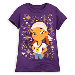 Izzy Tee for Girls - Jake and the Never Land Pirates