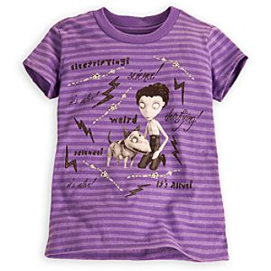 Striped Frankenweenie Tee for Girls