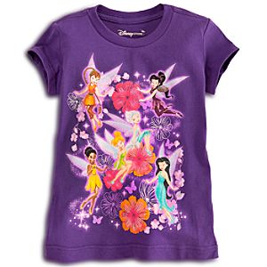 Disney Fairies Tee for Girls - Secret of the Wings