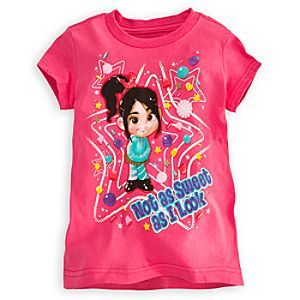Vanellope Von Schweetz Tee for Girls - Wreck-It Ralph