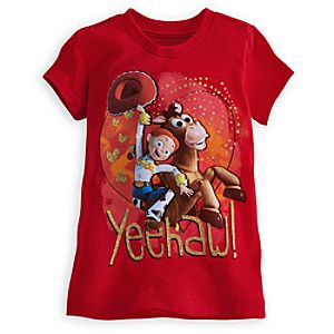 Yeehaw! Bullseye and Jessie Tee for Girls