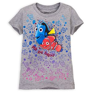 Cap Sleeve Finding Nemo Tee for Girls