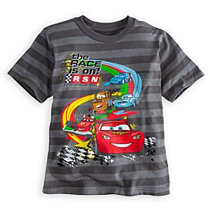 Striped Cars 2 Tee for Boys