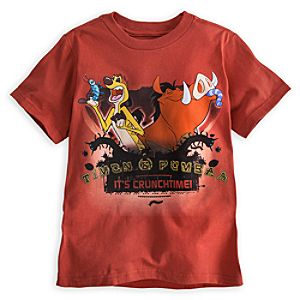 Timon and Pumbaa Tee for Boys