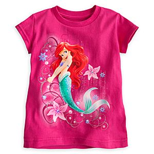 Ariel Tee for Girls