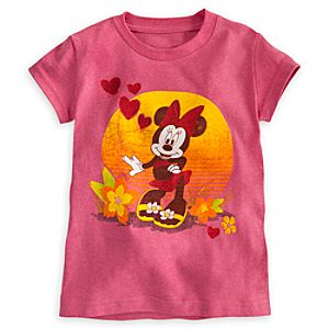 Minnie Mouse Summer Tee for Girls
