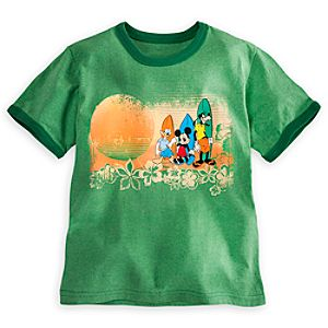 Mickey Mouse and Friends Summer Tee for Boys