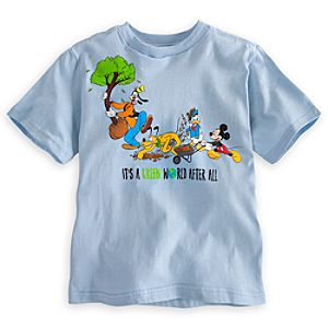 Mickey Mouse and Friends Tee for Boys - Earth Day