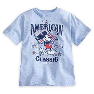 Mickey Mouse Tee for Boys - American Classic