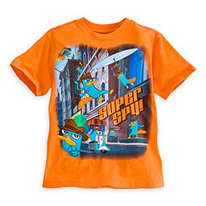 Perry Agent P Tee for Boys