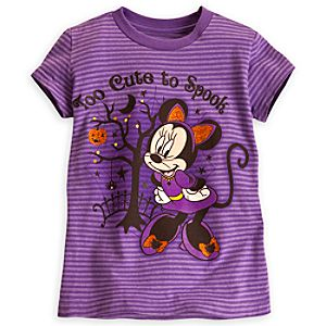 Minnie Mouse Halloween Tee for Girls