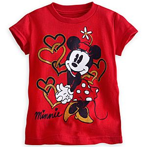 Minnie Mouse Tee for Girls