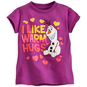 Olaf Tee for Girls - Frozen