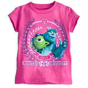 Mike and Sulley Tee for Girls - Monsters University