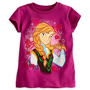 Anna Tee for Girls - Frozen