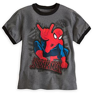 Spider-Man Ringer Tee for Boys