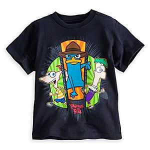 Phineas and Ferb with Perry Tee for Boys