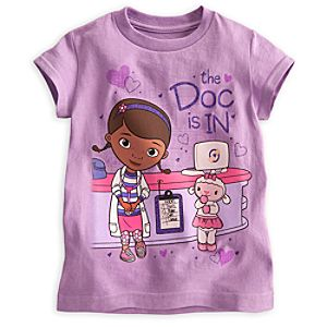 Doc McStuffins and Lambie Tee for Girls