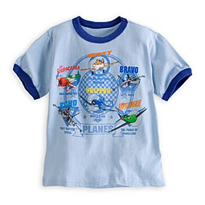 Planes Ringer Tee for Boys