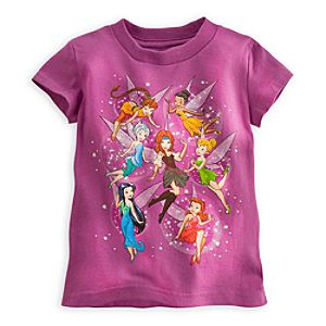 The Pirate Fairy Tee for Girls