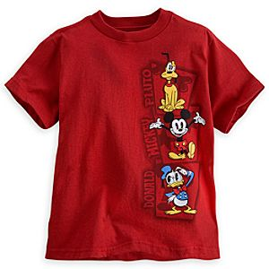 Mickey Mouse and Friends Tee for Boys