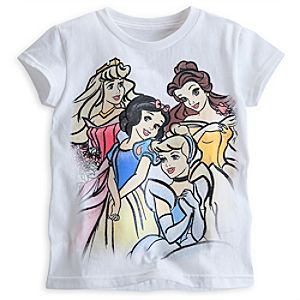 Disney Princess Classic Tee for Girls