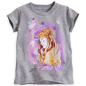 Princess Aurora Tee for Girls - Maleficent