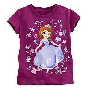 Sofia Tee with Filigree for Girls