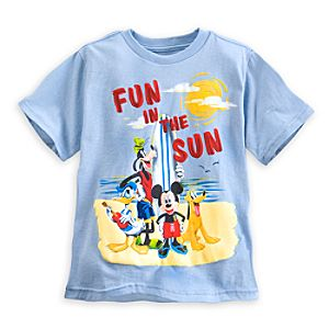 Mickey Mouse and Friends Fun in the Sun Tee for Boys