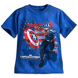 Captain America: The Winter Soldier Tee for Boys
