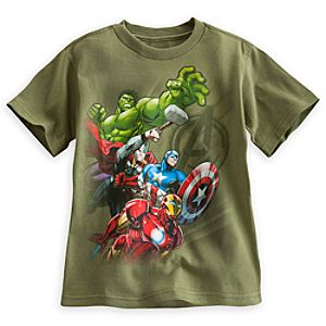 The Avengers Tee for Boys