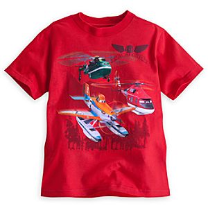 Planes: Fire & Rescue Tee for Boys - Red
