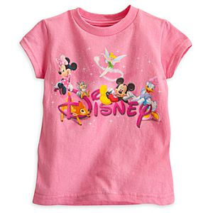 World of Disney Tee for Girls