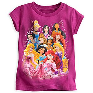 Disney Princess Group Portrait Tee for Girls