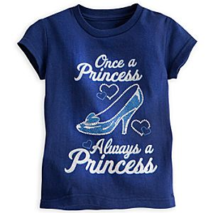 Cinderella Slipper Tee for Girls
