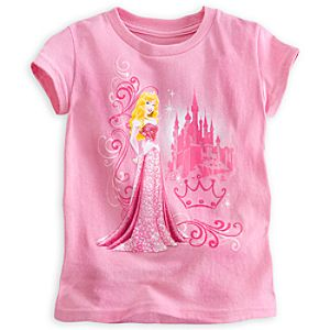 Princess Aurora Heathered Tee - Sleeping Beauty