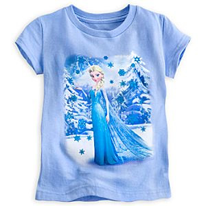 Elsa Snowflake Tee for Girls
