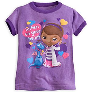 Doc McStuffins Ringer Tee for Girls