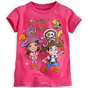 Izzy, Jake, and Skully Tee for Girls