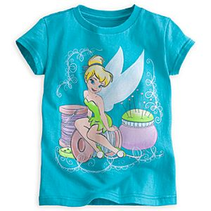 Tinker Bell in Pastels Tee for Girls