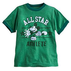 Mickey Mouse Athletic Tee for Boys