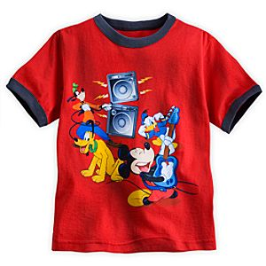 Mickey Mouse and Friends Ringer Tee for Boys